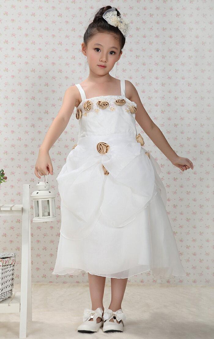 White Graduation Dresses For Kindergarten 105