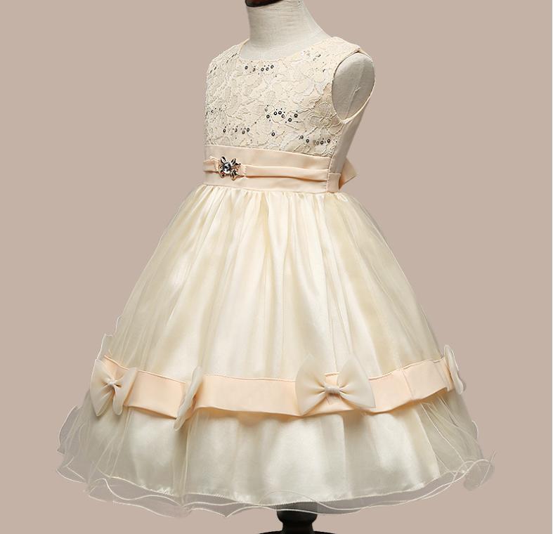 送料無料 子供 ドレス フォーマル 女の子 キ...の紹介画像2