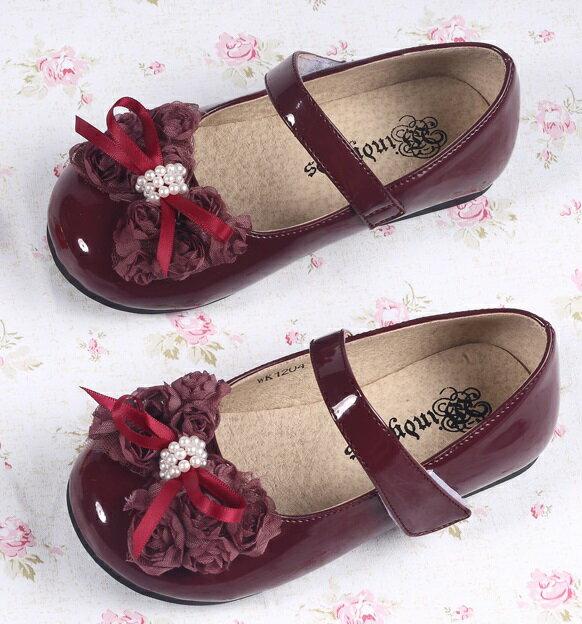 フォーマル靴ワインレッド・フォーマル靴・女の子・子供靴・キッズシューズ・キッズシューズ・子供シューズ