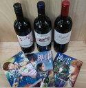 プピーユが01(希少)にリニューアル! 神の雫7~9巻掲載おすすめワイン3本セット(カザマッタ06・ピュイグロ05プピーユ01)