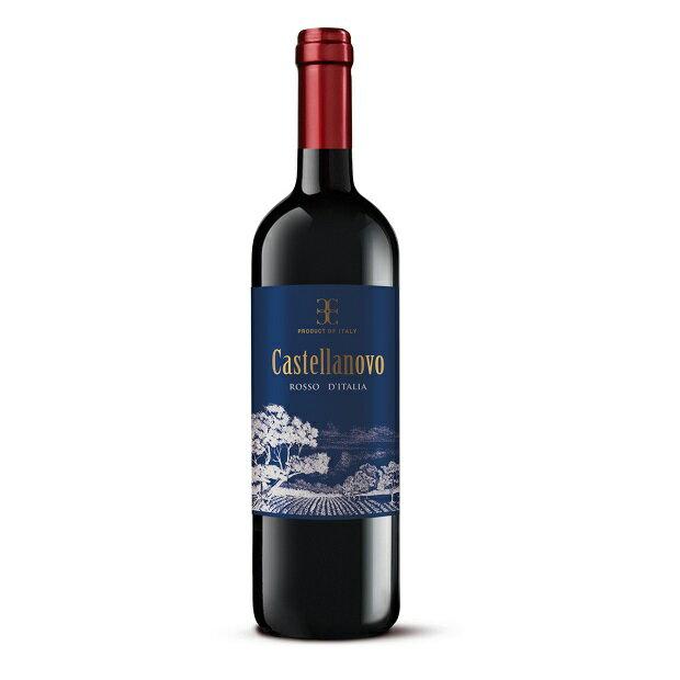 カステッラノーヴォロッソ750ml|赤ワインイタリアミディアムボディ中重口赤ワインサンジョベーゼ