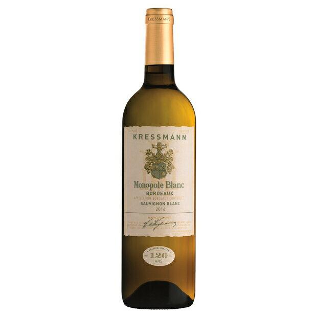 白ワインクレスマンモノポールホワイト750mlフランスAOCボルドー白辛口KRESSMANNMONO