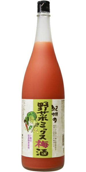 【22日はポイント2倍】紀州 一根六菜/中野BC 1800ml (梅酒)