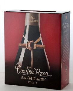 カンティーナ・ロッソ ザッカニーニ バックインボックス 赤ワイン