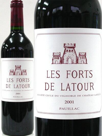 レ・フォール・ド・ラトゥール[2001](赤ワイン)[S][tp]
