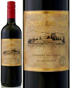 コンデ・デル・スール・カベルネ・ソーヴィニョン ボデガス・イ・ヴィニェドス・デ・アギーレ 赤ワイン