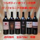 ワインセット 【送料無料】第78弾厳選 カリフォルニア赤ワイン 飲み比べ6本 セット 【750ml×6】 【モトックス】ワイン 人気 楽天人気