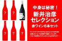 ●6● 中身は秘密、新井治彦セレクション・赤ワイン6本ワインセット