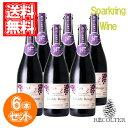 楽天ワインとギフトのリコルティ蒼龍葡萄酒 マディルージュ コンコード NV お得な6本セット 酸化防止剤無添加 日本 山梨 スパークリングワイン 750ml ランブルスコのような