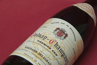 ドメーヌ ガニャール ドラグランジェ / ヴォルネイ champagne pull Mie cru [2005]