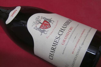 1,500 ml of ジャンテ パンショ / charme Chambertin [2009]