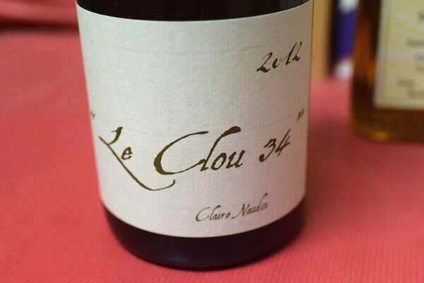 Domaine Henri naudin Ferrand and Le crew 34 Blanc [2012]