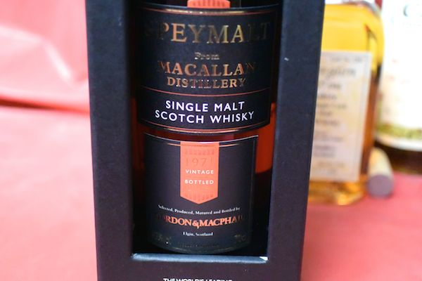 Spey malt from McCarran 1971 43% Gordon & Mac file
