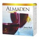 ボックスワイン 箱ワイン boxワイン      赤 アルマデン クラシック・レッド バッグインボックス 5,000ml    関東   smtb-T