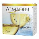 ボックスワイン 箱ワイン boxワイン     白 アルマデン クラシック・ホワイト バッグインボックス 5,000ml    関東   smtb-T