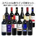 ワイン セット 金賞 <第66弾> スペシャル赤ワイン12本セット(赤12本) ※同梱不可  赤S ★金賞ワイン入り!