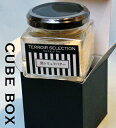黒トリュフバター 75グラム北海道産バター 黒トリュフ 瓶詰 cube box