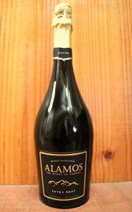 アラモス エキストラ ブリュット メトード トラディショナル スパークリングワイン アルゼンチン