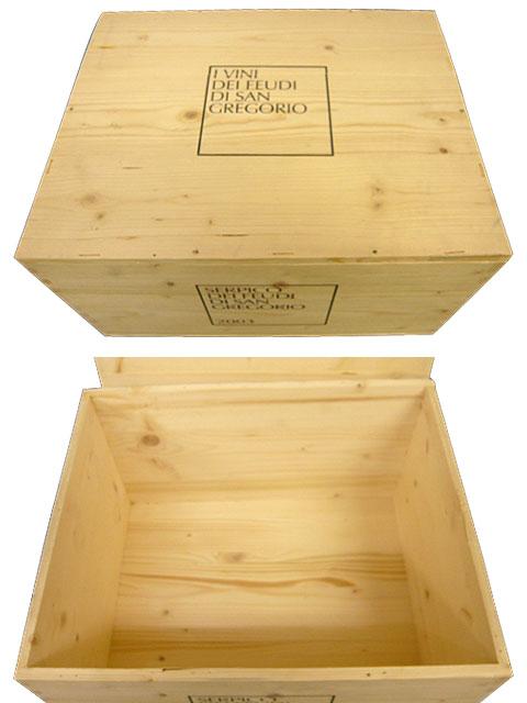 【代金引換不可】【他の商品との同梱不可】ワイン木箱 6本用...:wineuki:10013832