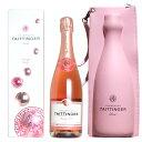 楽天うきうきワインの玉手箱テタンジェ ロゼ プレステージ シャンパーニュ 1本 & クーラーバッグ 1個付 (かわいいピンクのクーラーバッグ) 限定セット テタンジェ社 泡 ロゼ シャンパン ワイン 辛口 750mlTAITTINGER Prestige Rose Champagne & a Cooler Bag Set