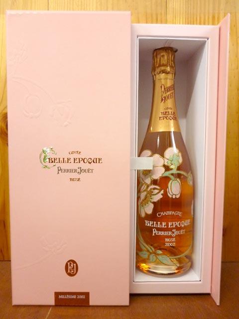 ペリエ・ジュエ・シャンパーニュ・ベルエポック・ロゼ・ブリュット・ミレジメ[2006]年・正規代理店輸入品 箱付 (箱入) ギフトChampagne PERRIE JOUET Belle Epoque Brut Rose Millesime [2006] Gift Box 箱付 (箱入) ギフト