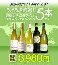 【送料無料】第2弾!うきうき厳選 世界の白ワインが味わえる超極上辛口白ワイン究極ス