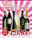 【祝】成人・新卒・お祝い・HAPPY HAPPYカンパイ6本セット・楽しい仲間と飲もう!