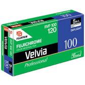 富士フィルム フジクロームフィルム Velvia 100 120 VELVIA100F EP NP 12EX5