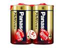 パナソニック アルカリ電池 単1形 2本入 LR20XJ/2SE