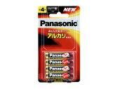 パナソニック アルカリ乾電池 単4形 4本入 LR03XJ/4B 02P01Oct16