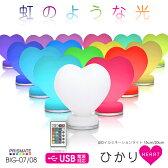 阪和 PRISMATE -cute- LEDイルミネーションライト ひかり ハート 15cm BIG-07