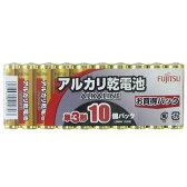富士通 アルカリ乾電池 単3形 LR6H(10S) 10本入り 02P01Oct16