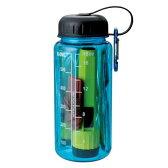 非常時用 スマートエマージェンシーボトル 5点入 カラビナキーホルダー/ライト/ウォーターボトル/スラップ薄型ホイッスル/アルミブランケット 02P01Oct16