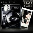 【送料無料】富士フィルム インスタントカメラ instax mini 50s チェキ ピアノブラック