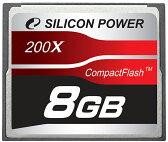 シリコンパワー コンパクトフラッシュ 8G SP008GBCFC200V10