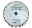 【メール便】リーダーメディアテクノ Goo-J BD-RE GJB25-6X10PW 1-6倍速 10枚 スピンドル