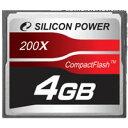 シリコンパワー コンパクトフラッシュ 4G SP004GBCFC200V10 02P03Dec16