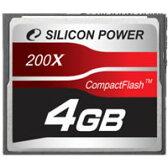 シリコンパワー コンパクトフラッシュ 4G SP004GBCFC200V10