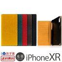 【送料無料】【あす楽】 iPhone XR ケース 手帳 本革 レザー SLG Design Minerva Box Leather Case for iPhoneXR 手帳型 ケース スマホ..