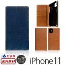【送料無料】【あす楽】 iPhone 11 ケース 手帳型 本革 SLG Design Tamponata Leather case for iPhone11 アイフォン 11 iPhoneケース ..