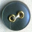 貝調ポリボタン ゴールドハトメ (黒)