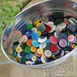 【数量限定】【メール便送料無料】全140色!カラフルボタンの宝石箱の福袋