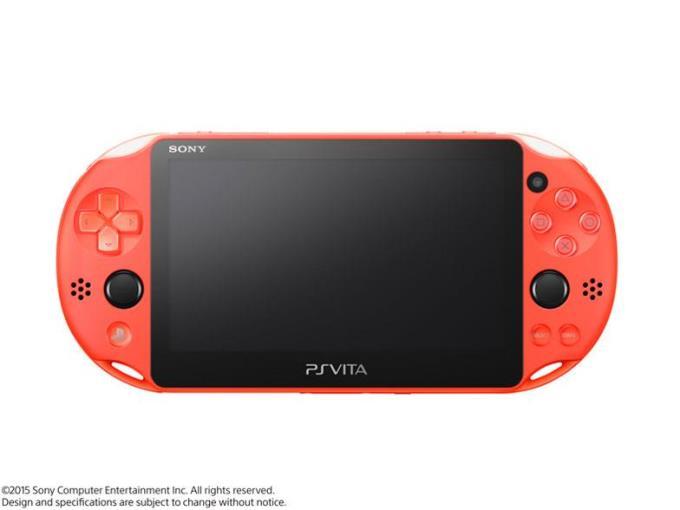 SONY ゲーム機本体(ポータブル) PlayStation Vita (プレイステーション ヴィータ) Wi-Fiモデル PCH-2000 ZA24 [ネオン・オレンジ]