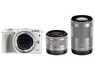 CANON デジタル一眼カメラ EOS M3 WZKIT2/White[ホワイト]