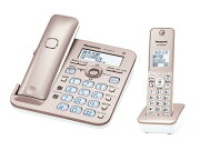 Panasonic 電話機 RU・RU・RU VE-GZ50DL-N [ピンクゴールド]