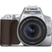 CANON デジタル一眼カメラ EOS Kiss X10 EF-S18-55 IS STM レンズキット [シルバー]