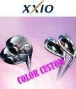 【2008年 NEW MODEL】【カラーカスタム!】 ダンロップ XXIO(ゼクシオ)レディース ユーティリティ MP500Lシャフト THE XXIO LADIES UT