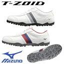 [NEW][幅広/EEEE]ミズノ ティーゾイドスパイクレス ゴルフシューズ 51GQ1685 【メール便不可】MIZUNO T-ZOID ゴルフ 靴
