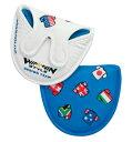 【WINWIN(ウインウイン】ワールドカップゴルフ パターカバー マレットタイプ PCM?106/PCM?107