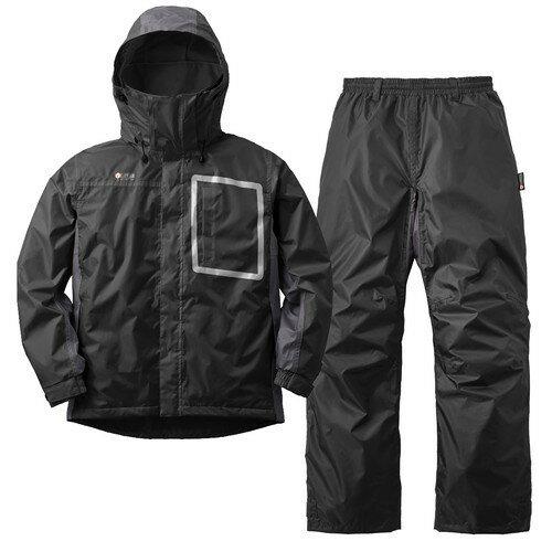 (LOGOS)ロゴス動作快適防水防寒スーツウィル(71ブラック)LL|lipnerリプナーメンズカッ